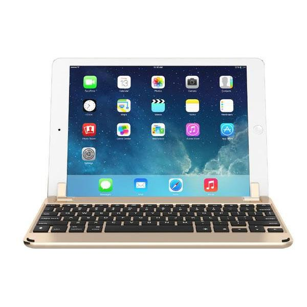 Brydge Bluetooth Keyboard for iPad Air/Air2/Pro 9.7 - Gold