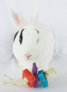 3 pc Fling Rabbit Toy