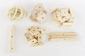 DIY Rabbit Toy Parts Kit