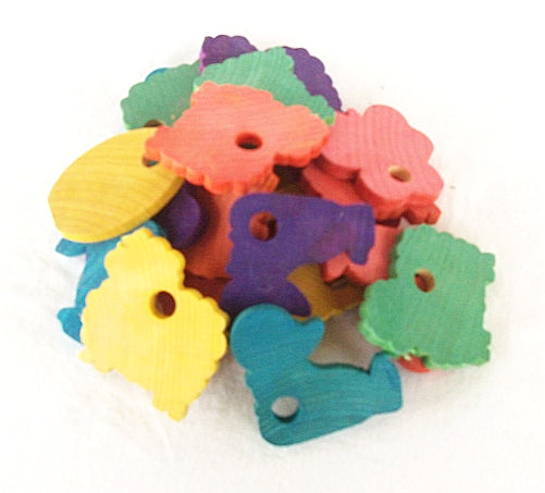 20 Fun Shapes - Rabbit Toy Parts