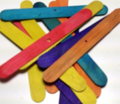 50 Popsicle Sticks - Rabbit Toy Part