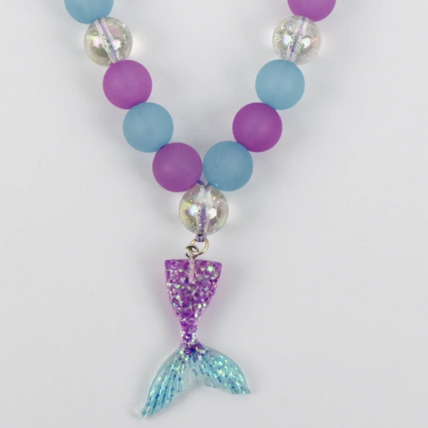 Beaded Necklace - Mermaid Tail