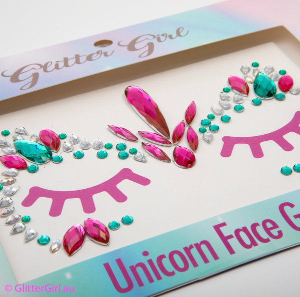 Face Gems - Unicorn Power