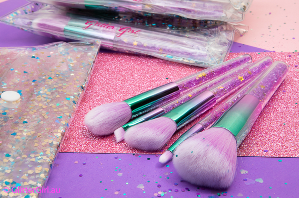 Makeup Brush Set - Unicorn Sparkle