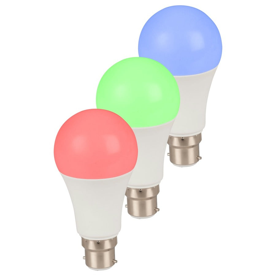 Smart Wi-Fi LED Bulb with Colour Change Pack of 3