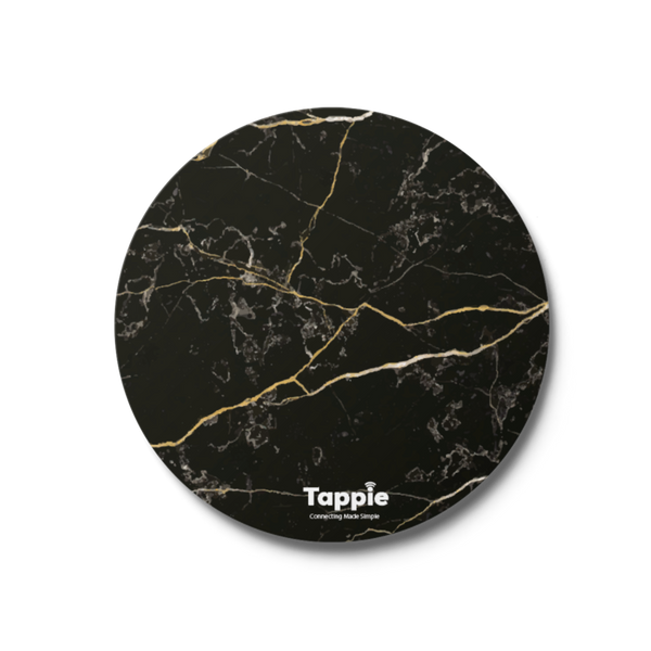 Tappie™ Black Marble
