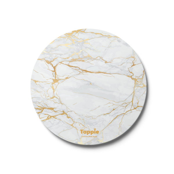 Tappie™ Gold marble