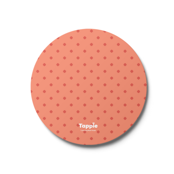 Tappie™ Salmon Dotted