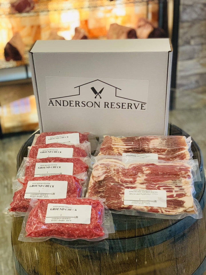 Beef & Bacon Butcher Box Anderson Reserve