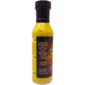 Chicago Style Hot Dog Sauce Condiment Anderson Reserve