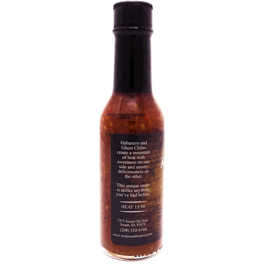 Coconut Ghost Chile Steak Sauce Steak Sauce Anderson Reserve