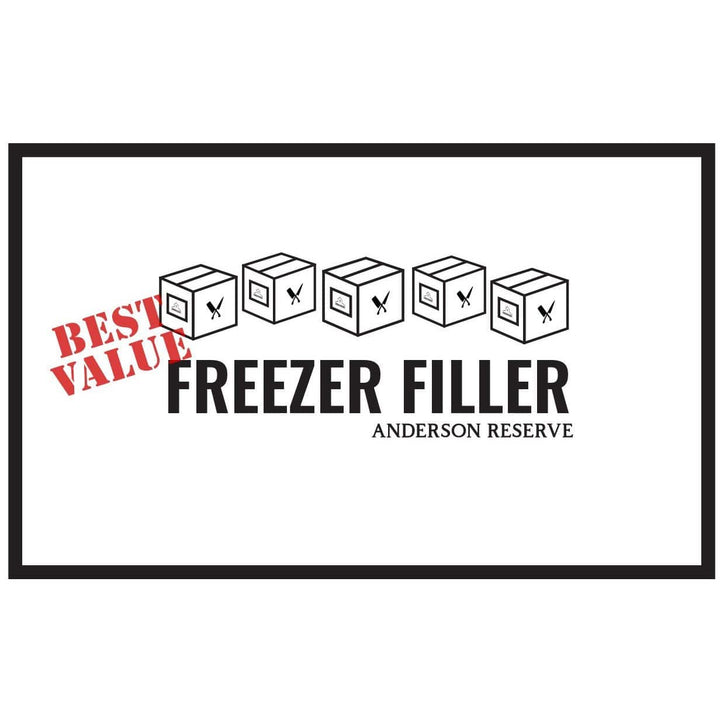 Freezer Filler Butcher Box Anderson Reserve
