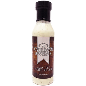 Habanero Garlic Ranch Condiment Anderson Reserve