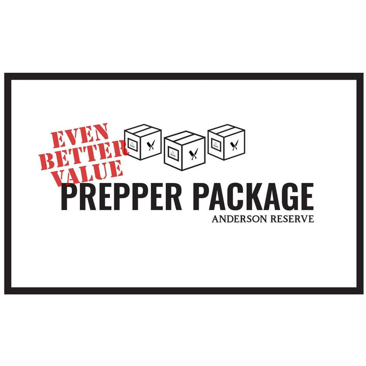 Prepper Package Butcher Box Anderson Reserve