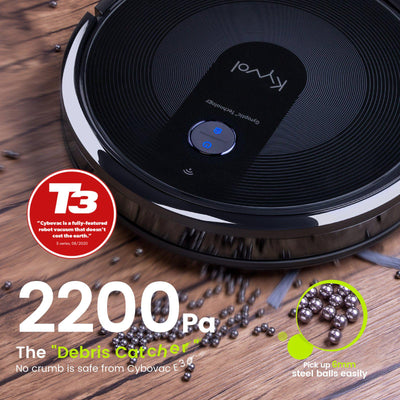 <span>Cybovac E30 Robot Vacuum Cleaner</span> <br /> <span>Gyroptic™ Navigation System Based Cleaner</span>