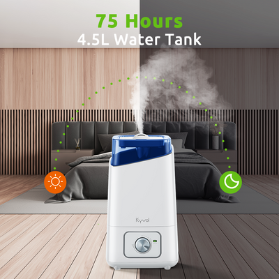 <span>Vigoair HD3 Humidifier </span> <br /> <span> 4.5L Cool Mist Humidifier for Large Rooms</span>