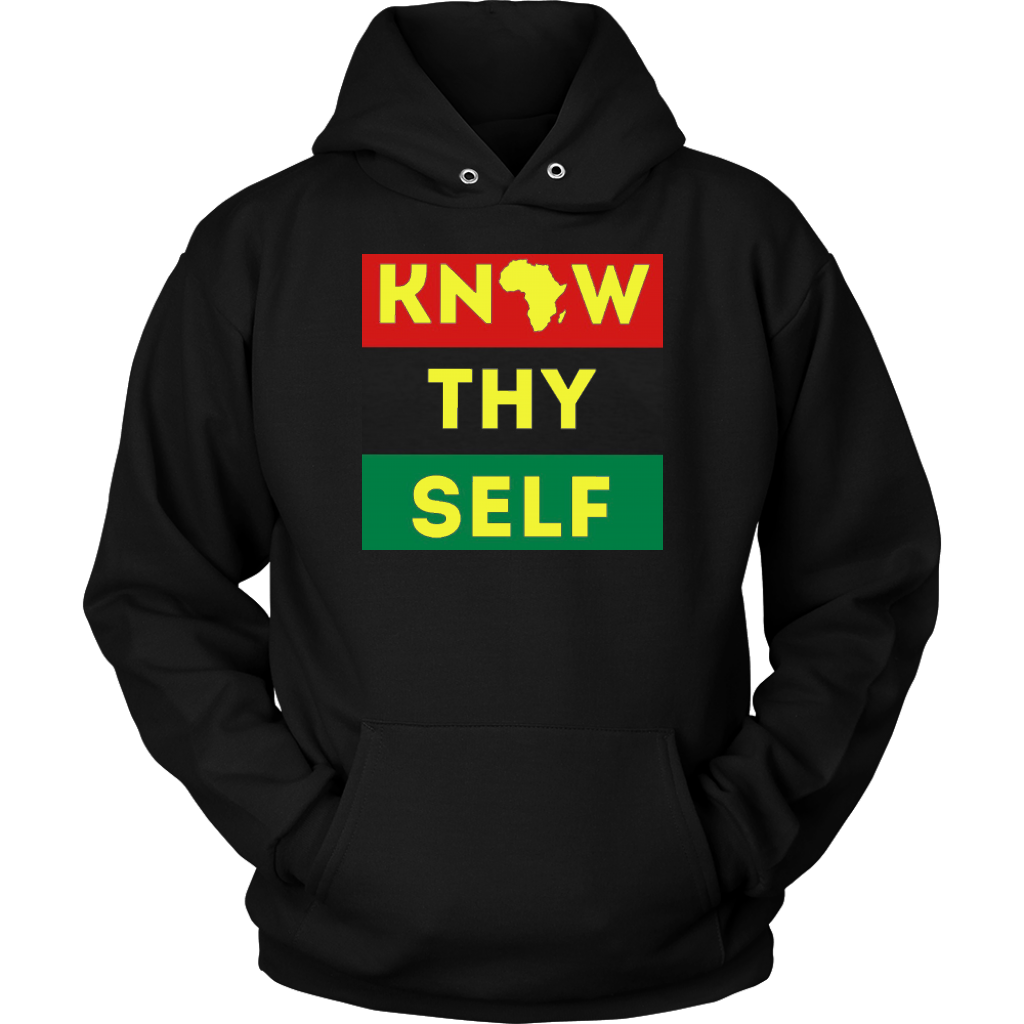 Know Thyself Yellow Unisex Hoodie