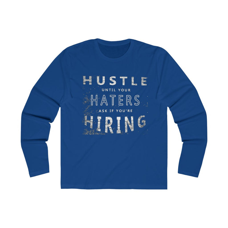 HUSTLA Long Sleeve Crew Tee