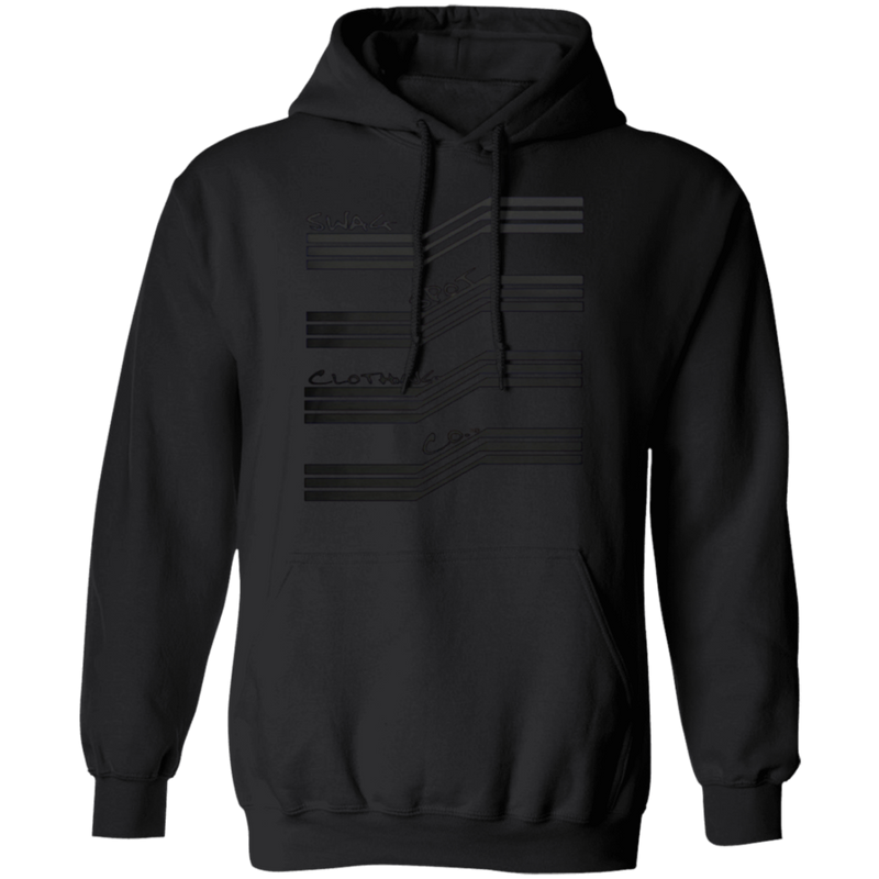 Swag Spot Clothing Co Black edition unisex hoodie - SW@gSpot
