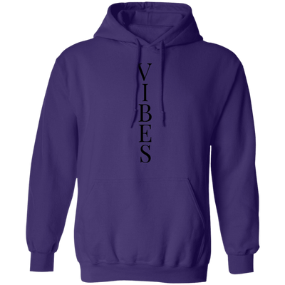 Vibes Black Pullover Hoodie - SW@gSpot