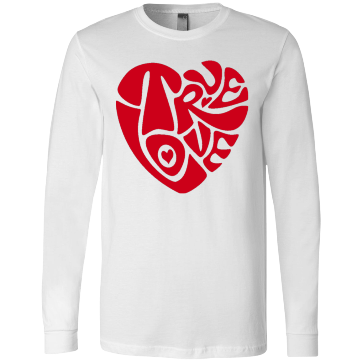 TRUE LOVE by Wisam LONG SLEEVE UNISEX T-Shirt - SW@gSpot