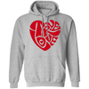 TRUE LOVE by Wisam UNISEX Pullover Hoodie - SW@gSpot