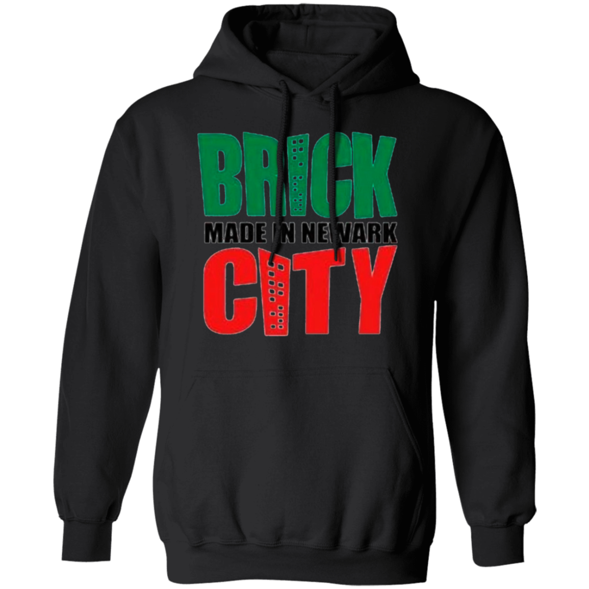 Brick City Made Unisex Pullover Hoodie