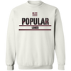 Popular Loner Black Unisex Sweatshirt - SW@gSpot