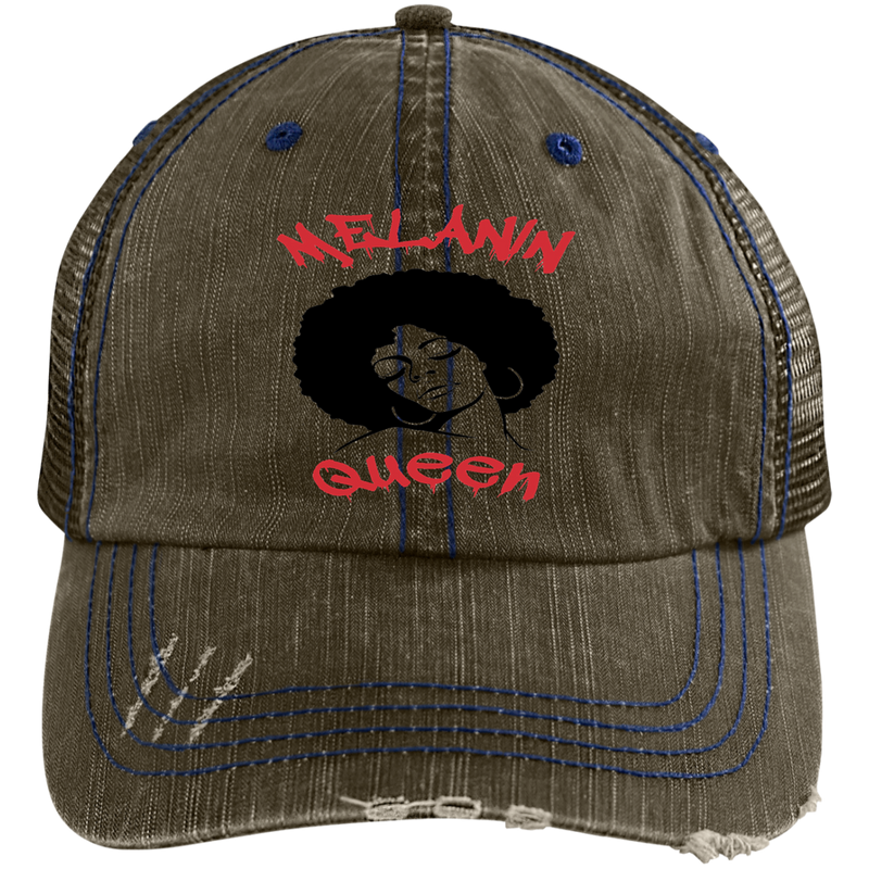 MELANIN QUEEN by Wisam embroidered trucker Cap - SW@gSpot