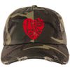 TRUE LOVE by Wisam Embroidered Distressed Dad Cap - SW@gSpot