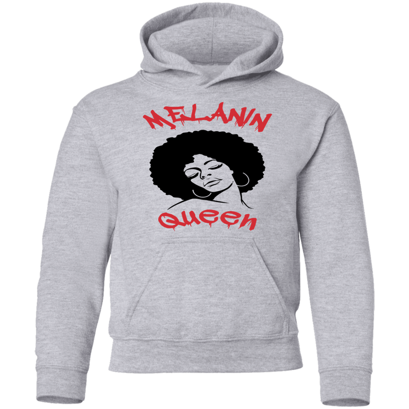 Melainin Queen by Wisam Youth Pullover Hoodie