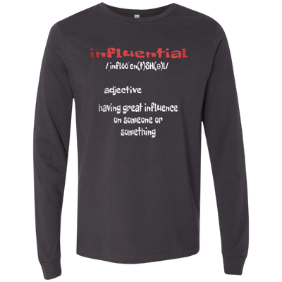 INFLUENTIAL by Wisam LONG SLEEVE UNISEX T-Shirt - SW@gSpot