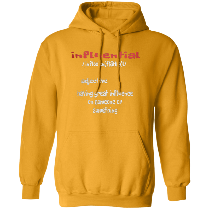 Influential by Wisam Unisex Pullover Hoodie - SW@gSpot