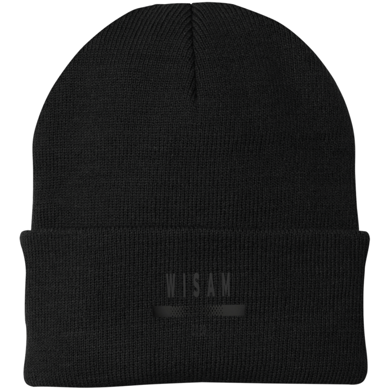 Wisam Black by Wisam embroidered knit cap - SW@gSpot