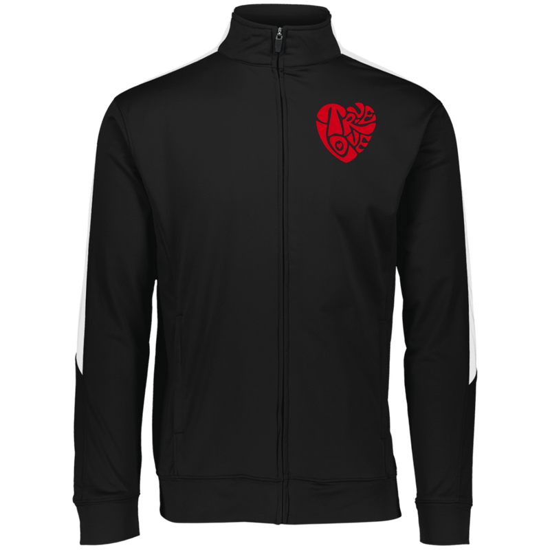Men's True Love by Wisam Embroidered Colorblock Full Zip - SW@gSpot