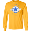 Swag Blue Star Long Sleeve T-Shirt - SW@gSpot