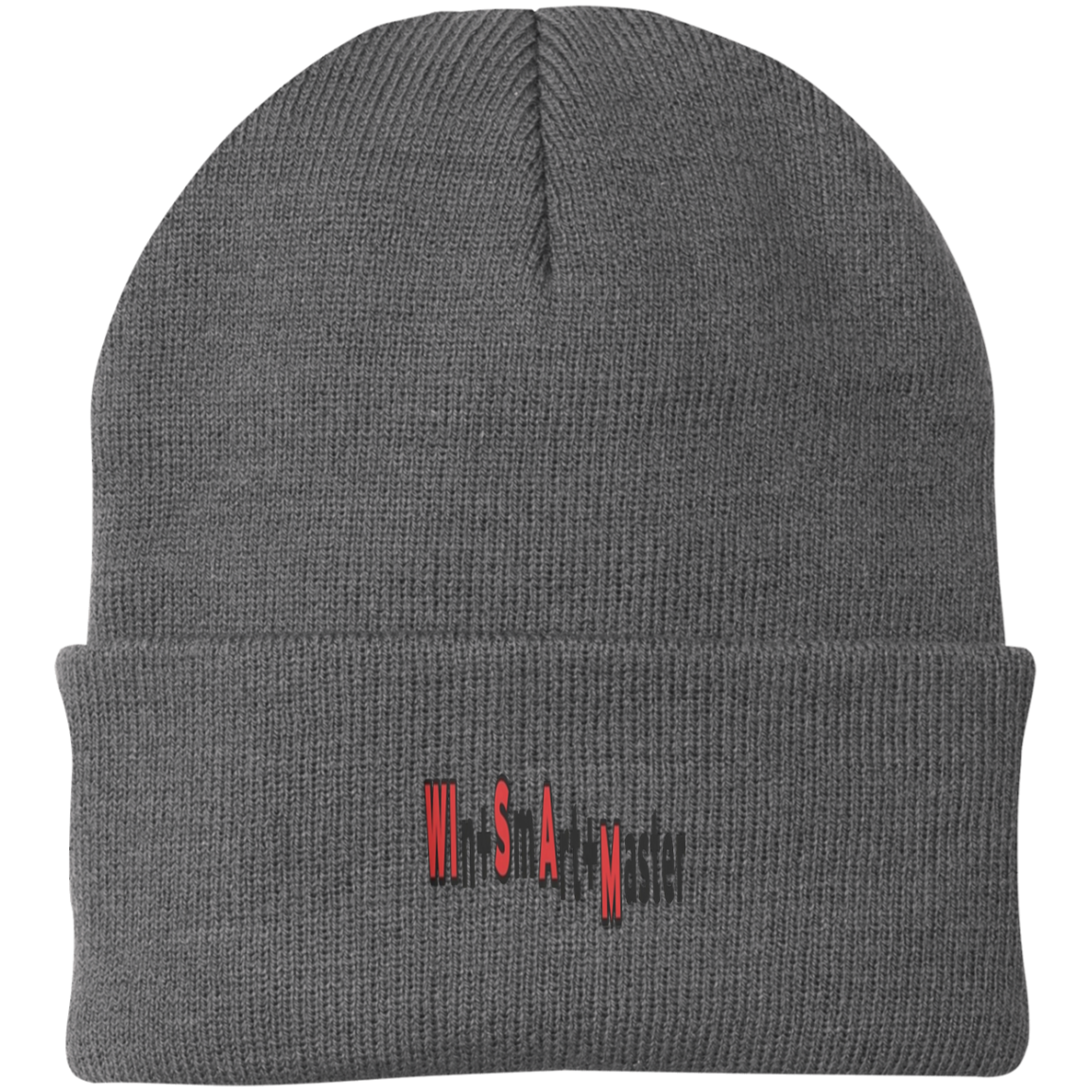 Wisam by Wisam Phonetic knit cap - SW@gSpot