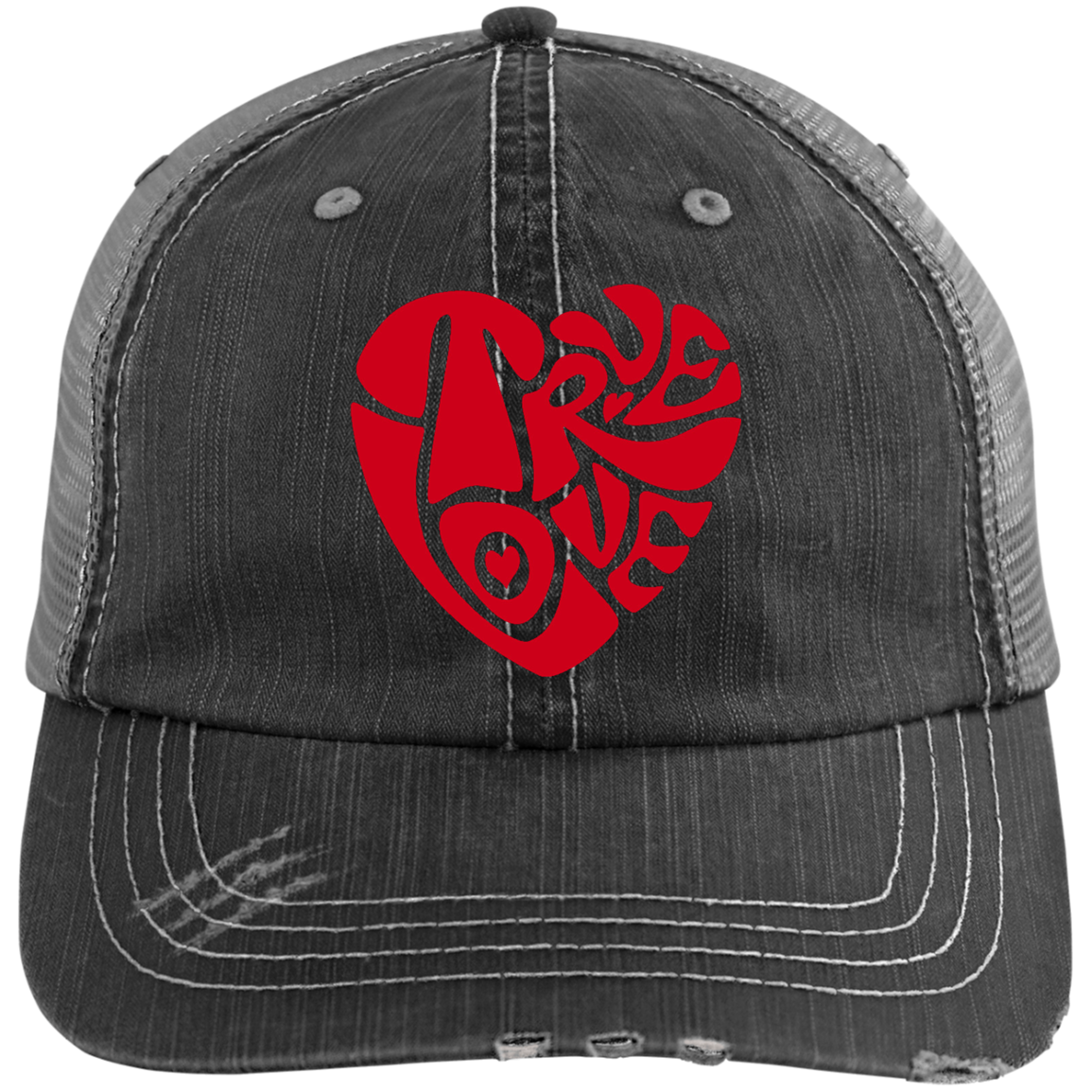 TRUE LOVE by Wisam embroidered Trucker Cap - SW@gSpot