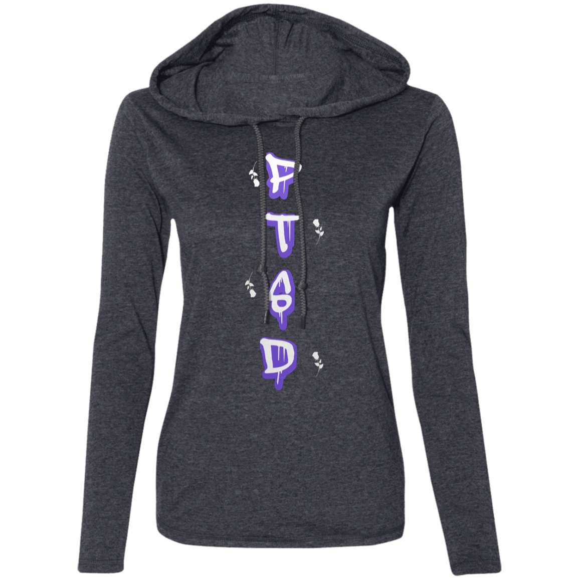 PTSD DOMESTIC VIOLENCE by Wisam Ladies' Long sleeve T-Shirt Hoodie