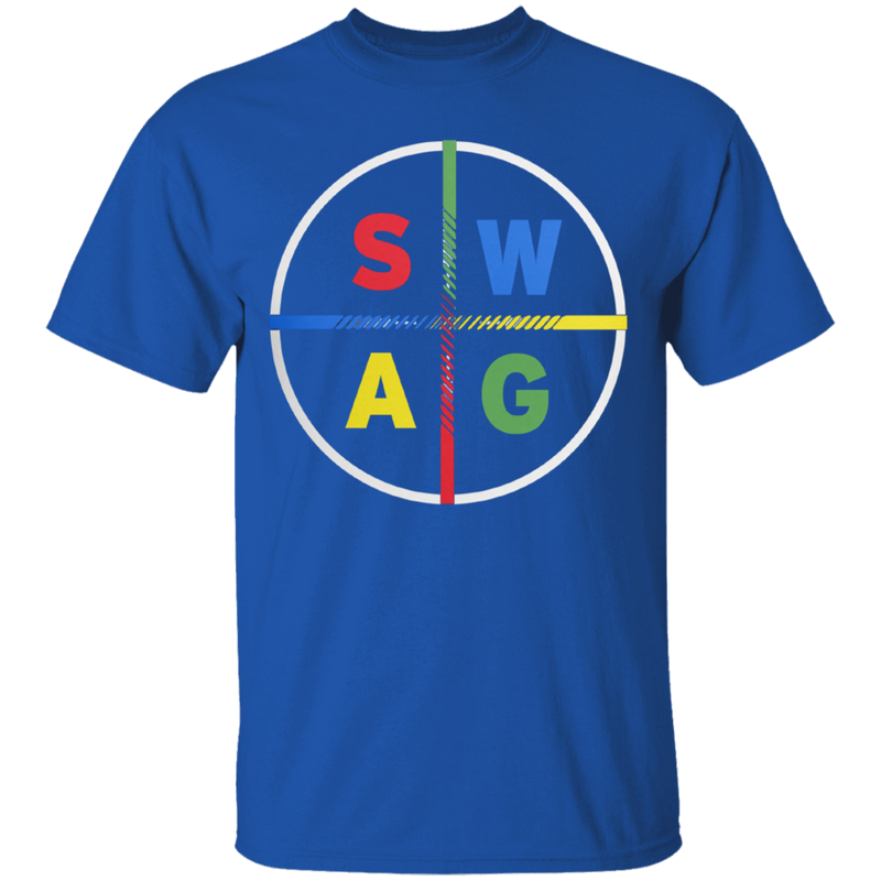 Swag Multicolored Letters Unisex T-shirt - SW@gSpot