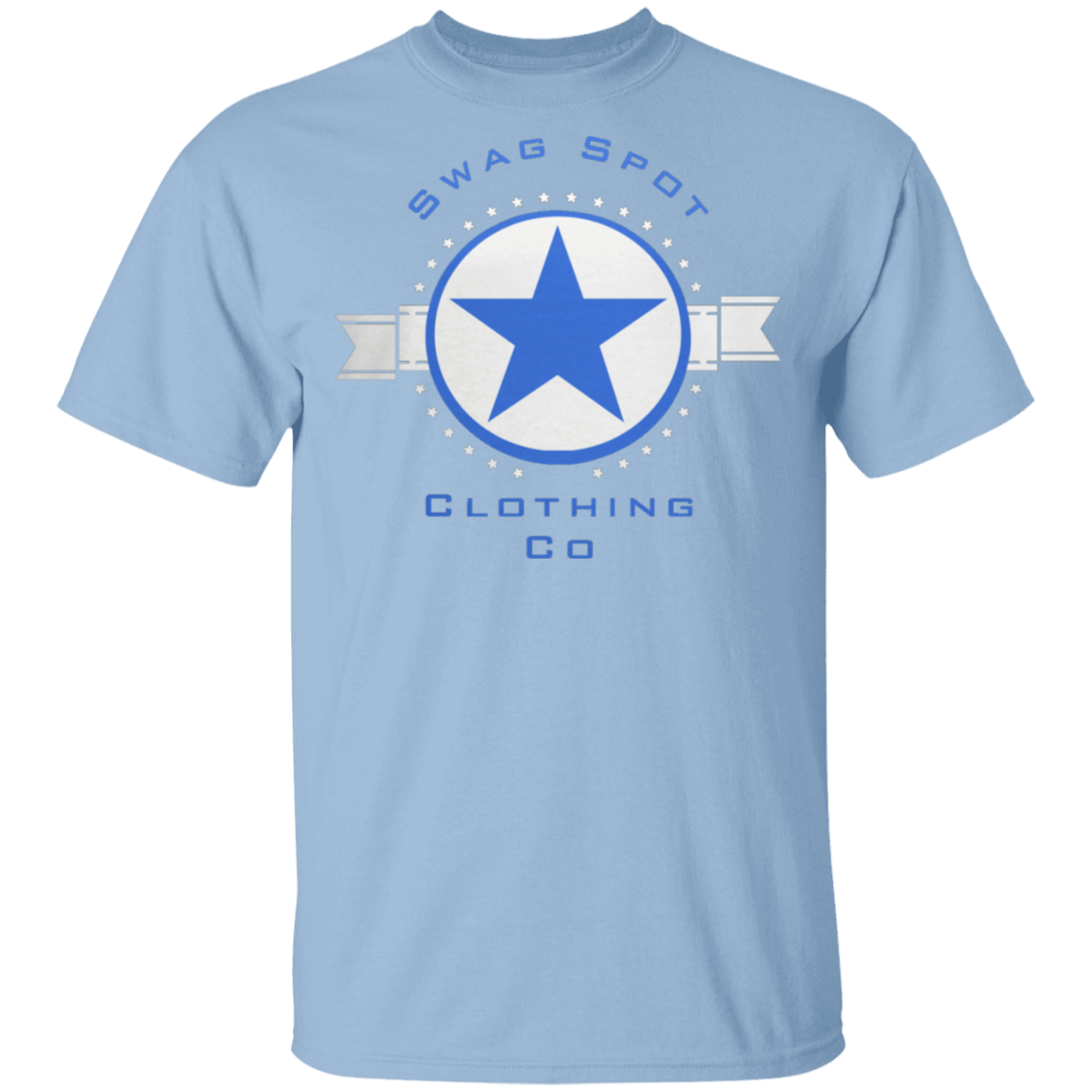 Swag Blue Star Pullover T-Shirt