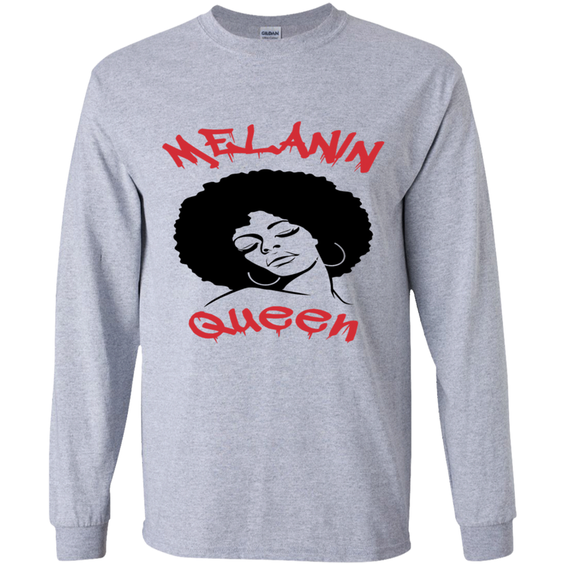 Melanin Queen by Wisam Youth Long sleeve T-Shirt