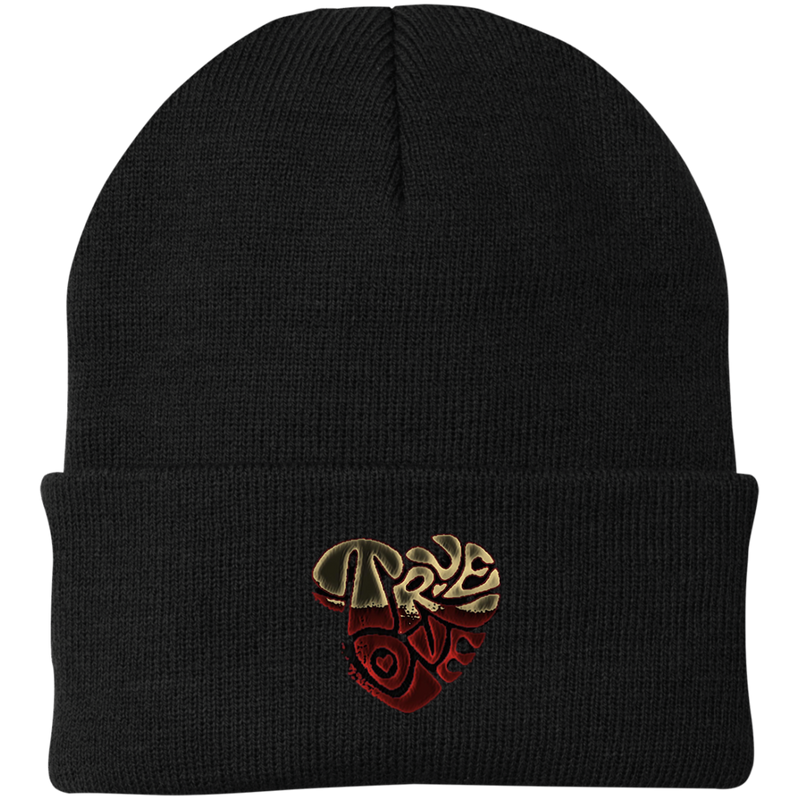 True Love dirty logo by Wisam Knit Cap - SW@gSpot