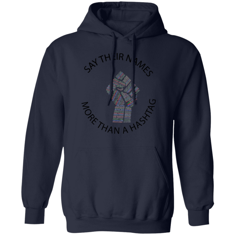 Say Their Name Multicolored Fist Unisex Hoodie - SW@gSpot