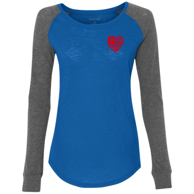 TRUE LOVE by Wisam Women's Preppy Patch Slub T-Shirt - SW@gSpot