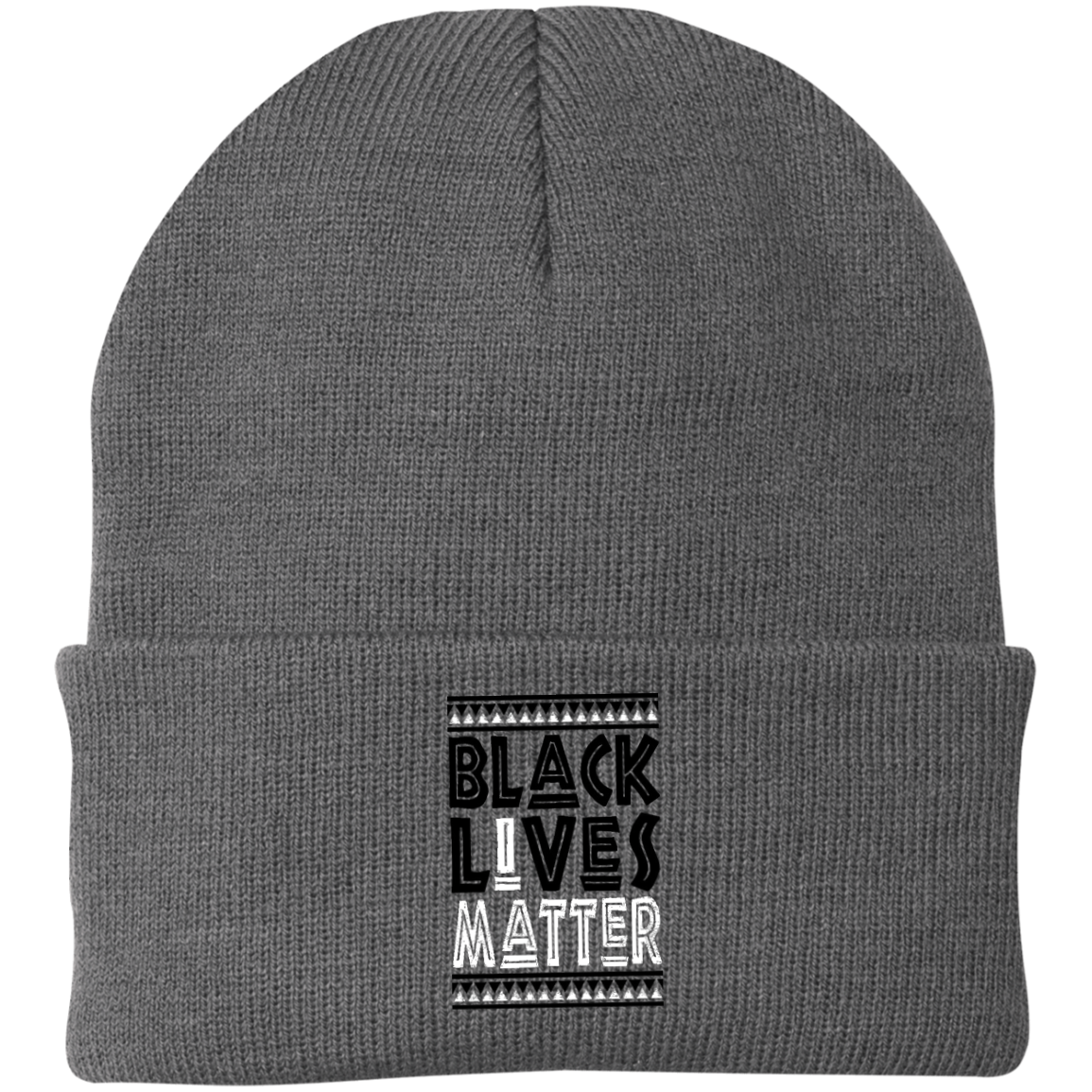 Black Lives Matter Embroidered knit cap - SW@gSpot