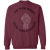 Say Their Name Multicolored Fist Sweatshirt - SW@gSpot