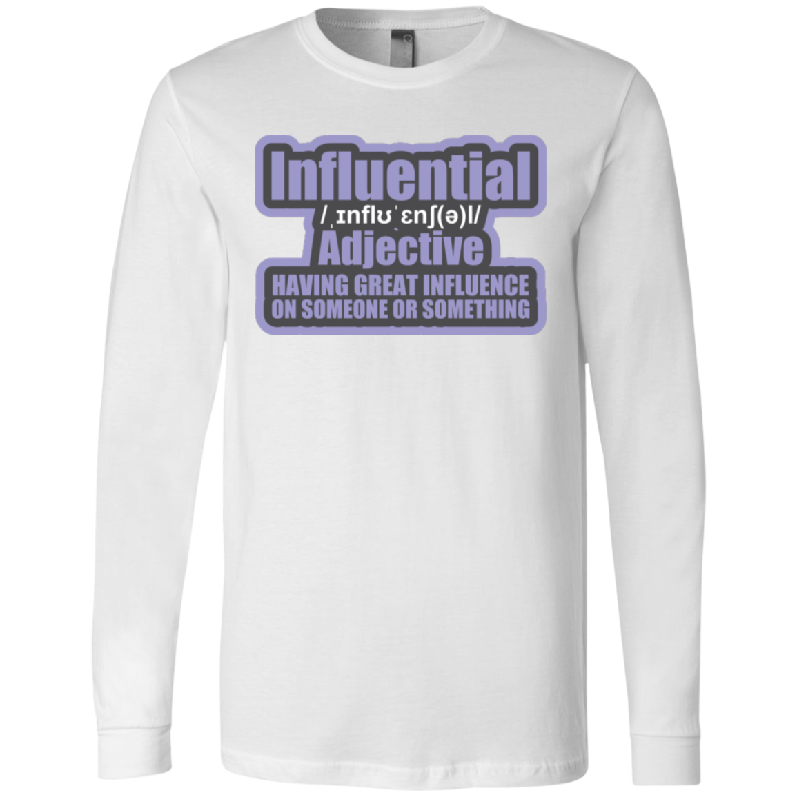 INFLUENTIAL 2.0 by Wisam LONG SLEEVE UNISEX  T-Shirt - SW@gSpot