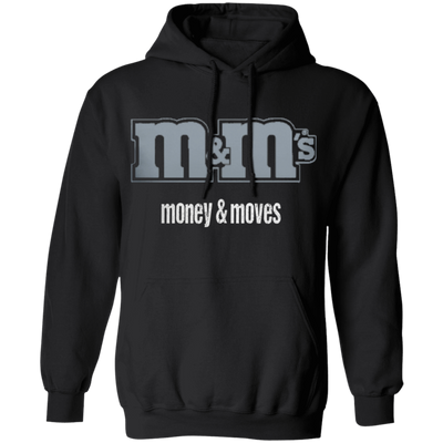 Money & Moves Grey Logo Unisex Hoodie - SW@gSpot
