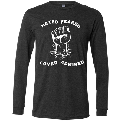 LOVE HATE by Wisam LONG SLEEVE UNISEX  T-Shirt - SW@gSpot